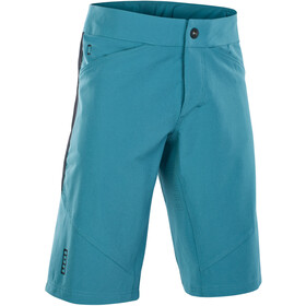 ION Scrub AMP Bike Shorts Men, laguna green